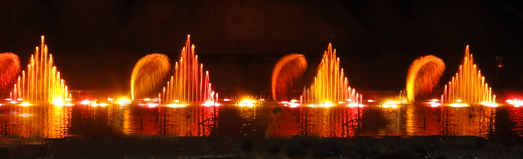 Танцующие фонтаны