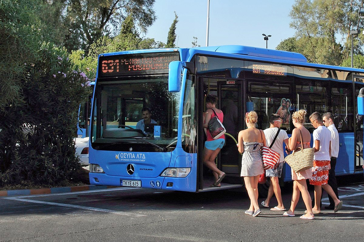 Route №631 in Paphos