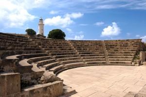 Греческий амфитеатр в Пафосе