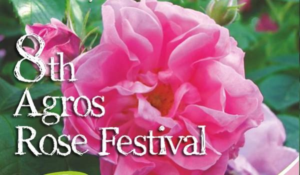 8-й фестиваль роз в Агросе