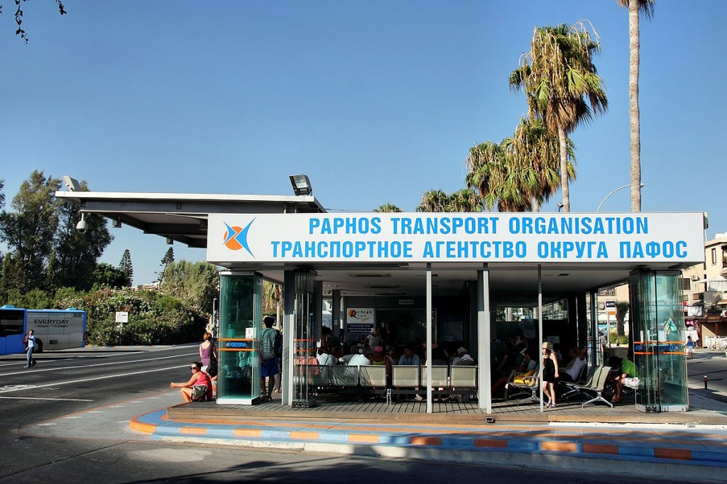 bus station in Paphos