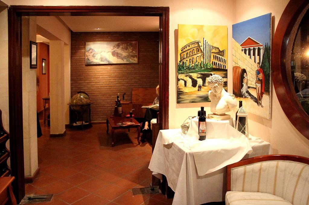 Интерьер ресторана Colosseum