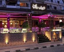 Вид с улицы на грузинский ресторан Kinto