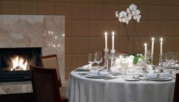 Интерьер ресторана Minthis Hills Clubhouse