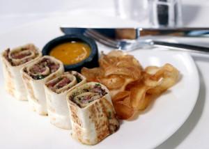 Блюдо в ресторане Minthis Hills