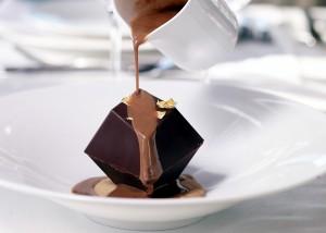 Десерт в ресторане Minthis Hills