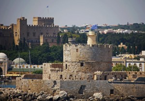 medieval castles in Rhodes