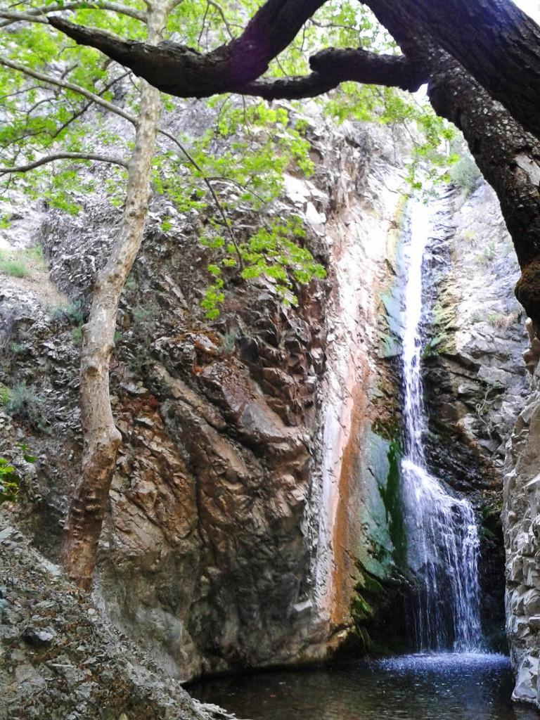 Водопад Миломери