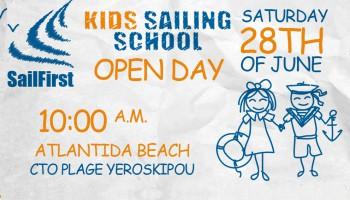 Открытый урок яхтинга для детей