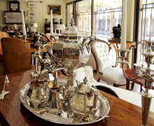 Интерьер антикварного магазина Portobello