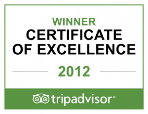 Сертификат Tripadvisor