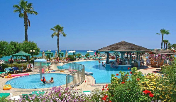 Отели Протараса: Capo Bay 4*, Silver Sands Beach 3*, Sunrise Beach 4*, Vrissiana Beach 4*