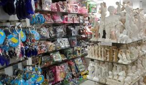 Souvenir shop in Cyprus