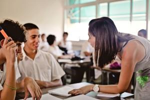 Урок в Grammar School