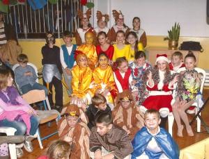 Новогоднее шоу в Grammar School