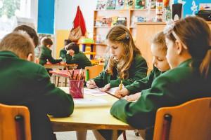 Урок рисования в Grammar School Junior
