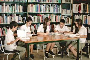 Библиотека в Grammar School