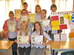 Награждение учеников в школе L.I.T.C.