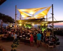Вечерняя панорама ресторана Muse