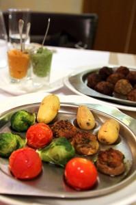 Запеченные овощи в кафе My Miniatures