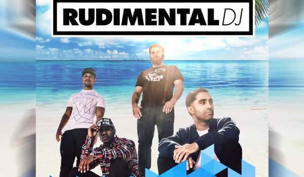Пляжная вечеринка с Rudimental DJ