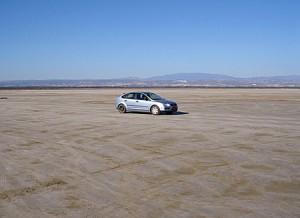Соленое озеро в Акротири