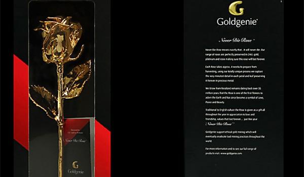 Онлайн розыгрыш золотой розы в 24 карата