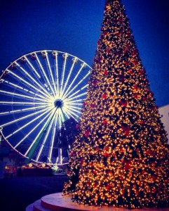 the Christmas fair in Limassol