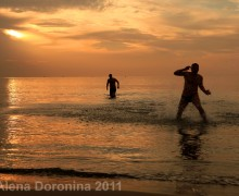 Рассвет на Кипре