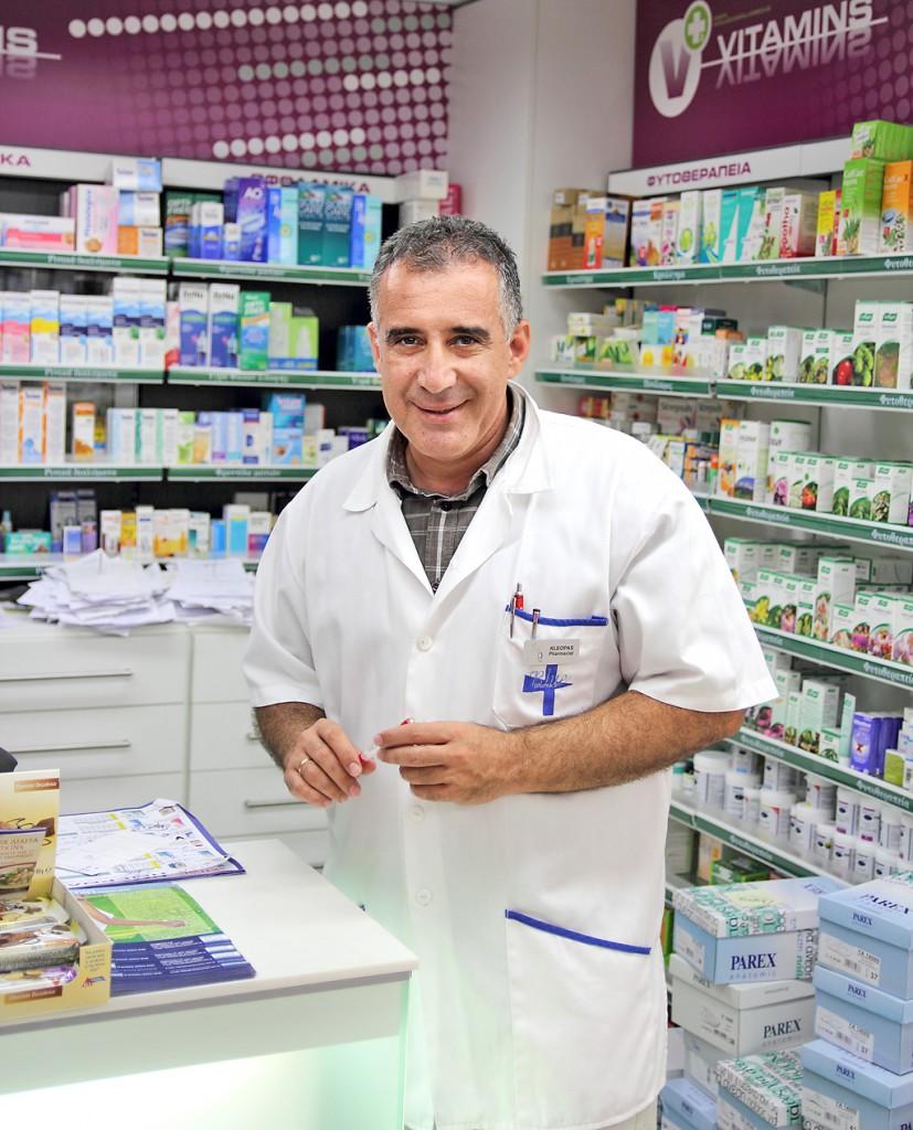 Владелец аптеки K+D Pharmacy Клеопас