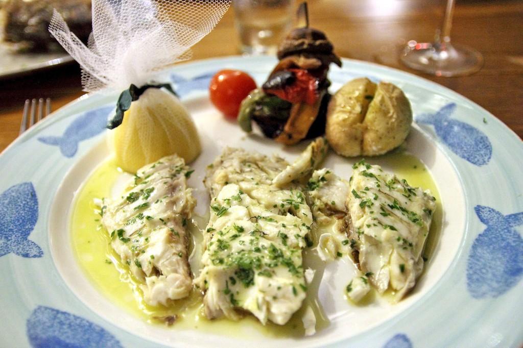 Нежнейшая рыба ресторана Limanaki