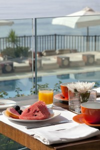 Завтрак в ресторане Caprice