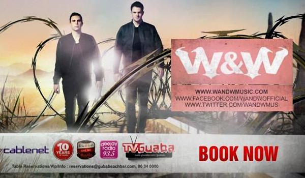 W&W в Guaba Beach Bar