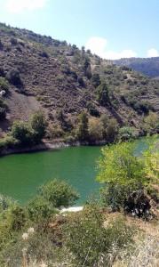 Водохранилище рядом с деревней Калопанайотис