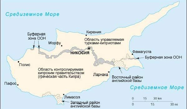 Мнение России о решении кипрской проблемы