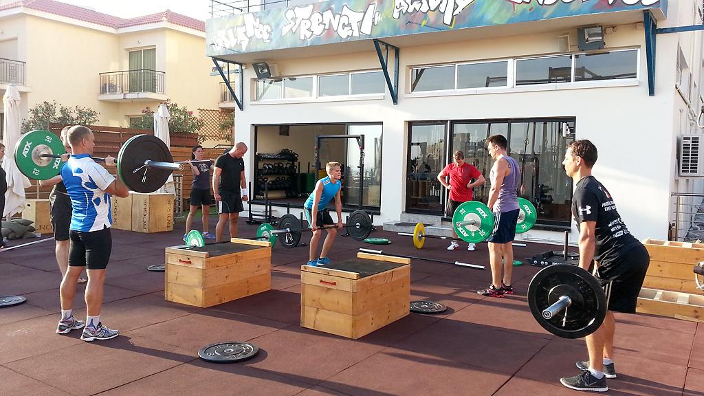 Тренировки в Aphrodite Games Camp