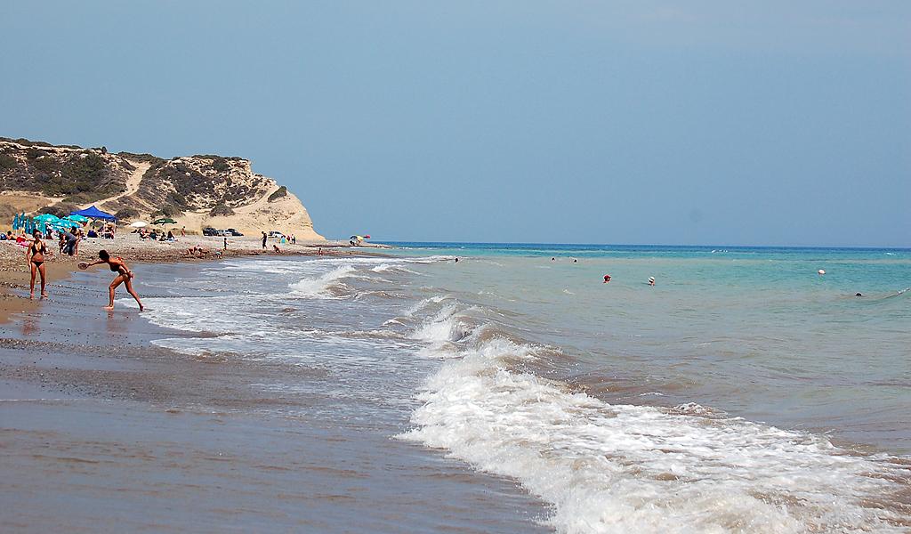 Пляж Avdimou