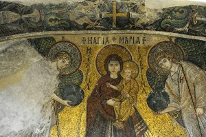 Mosaic of The Holy Mother Odigitria
