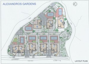Alexsandros Gardens (вилла 8)