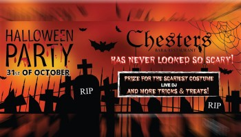 Хеллоуин вечеринка в Chesters