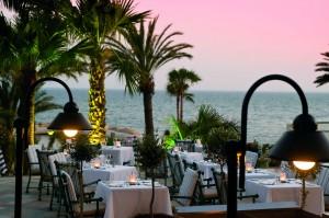 Ресторан La Terrazza в отеле Amathus