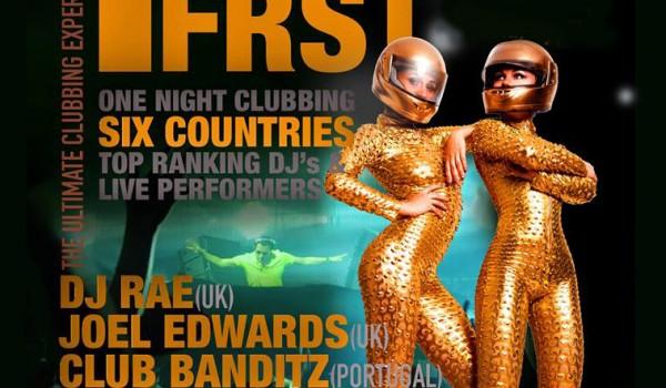 Танцевальная вечеринка Be F1RSt в Никосии