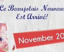 Beaujolais nouveau at Zen room & Chi lounge