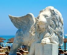 Венецианский лев в Ларнаке