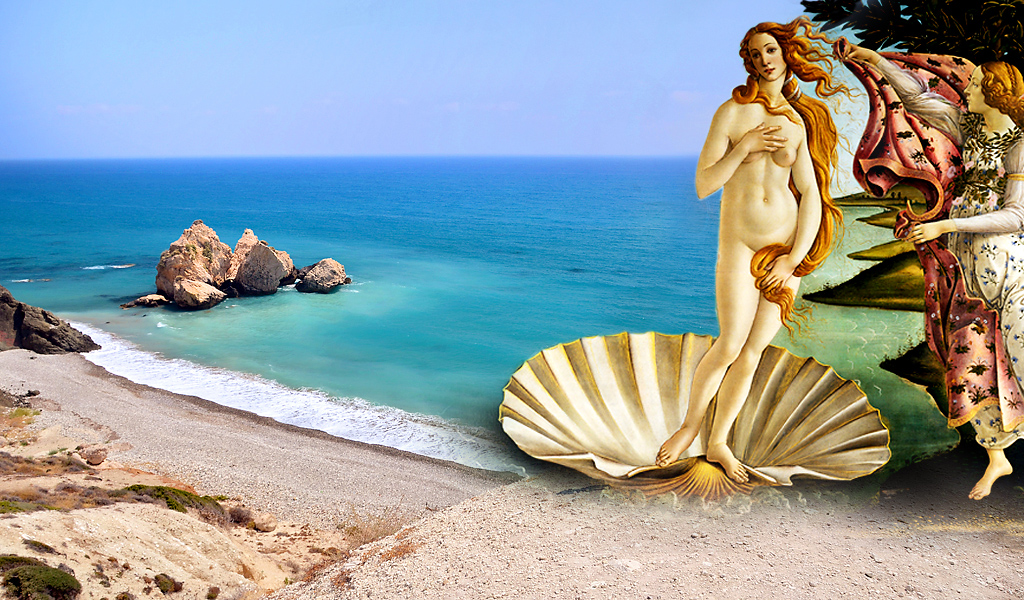the godess Aphrodite