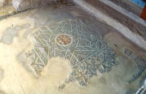 Мозайки древнего города Куриума