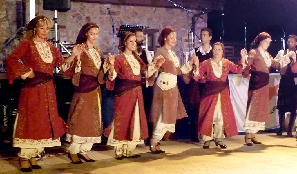 Кипрский народный танец Сирос