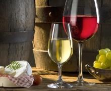 Розовые и белые вина
