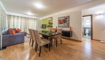 2-спальная квартира в комплексе «Aristo Paradise» - гостиная