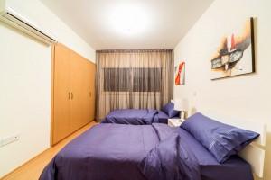 3-спальная квартира в комплексе Aristo Paradise - спальня